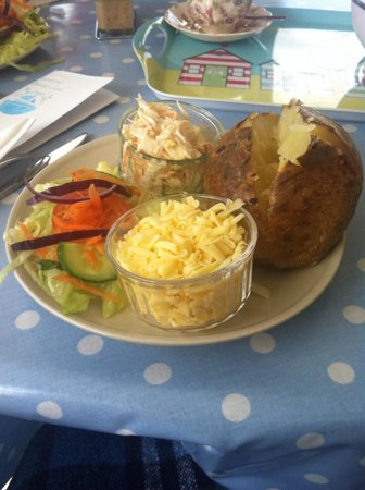 Southwold Boating Lake and Cafe: Filling and perfectly presented