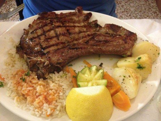 Nikolas : bistecca di manzo