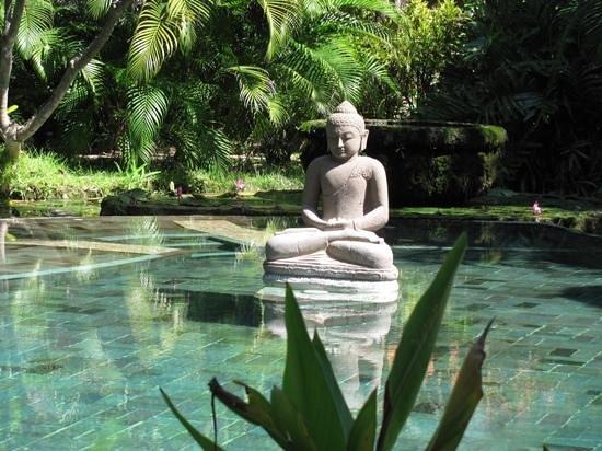 Pondok Sari Beach Bungalow Resort & Spa : het zwembad