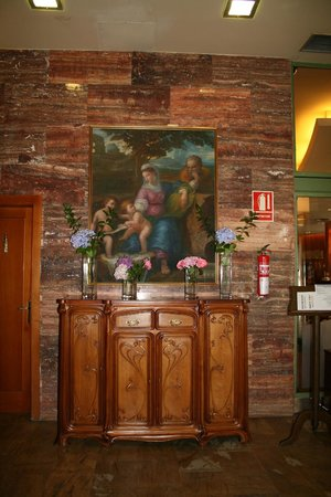 Hotel Alfonso IX : hall