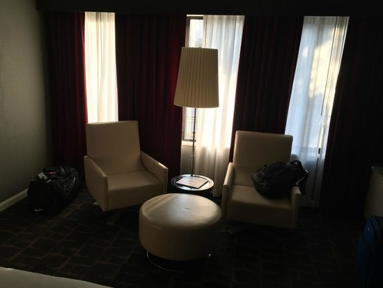 Kimpton Rouge Hotel: Nice size rooms