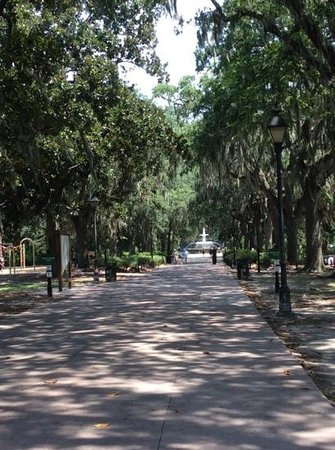 Savannah Historic District : Forsythe Park