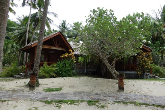 Gangga Island Resort & Spa: Bungalow from the outside