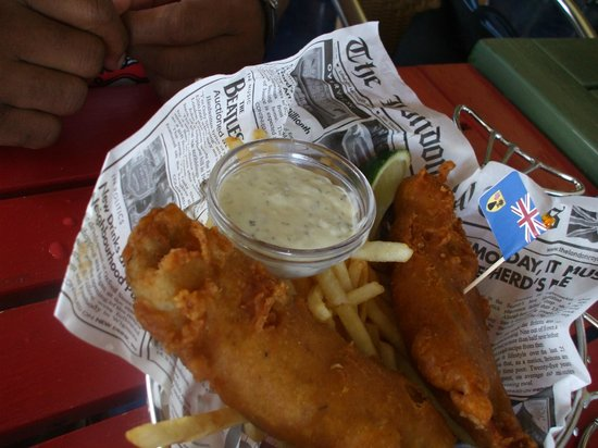 Jimmy Buffett's Margaritaville: Fish and Chips