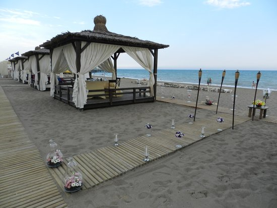Kempinski Hotel The Dome: Spiaggia
