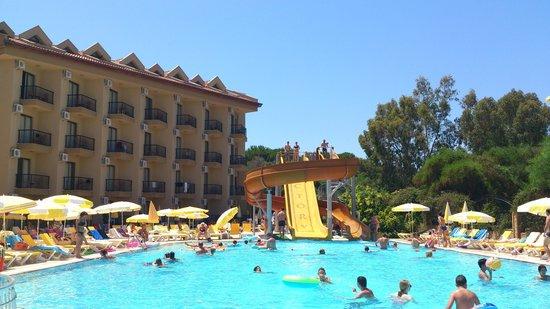 Victory Resort Hotel: Территория