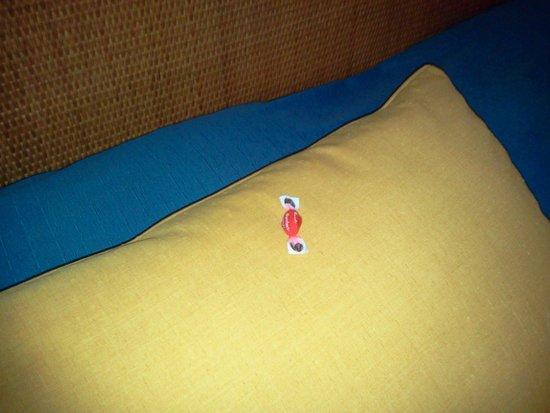 Floridiana Hotel: la caramella sul cuscino..!!!!!!