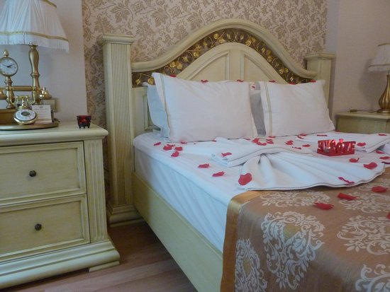 White House Hotel Istanbul: Our bedroom