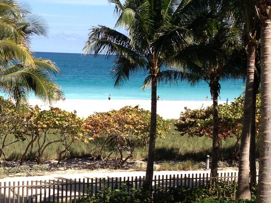The St. Regis Bal Harbour Resort: View from the pool deck!