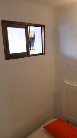Globales Cortijo Blanco: unique fenêtre chambre single