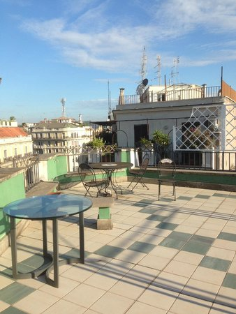 Hotel Fellini: Terrace