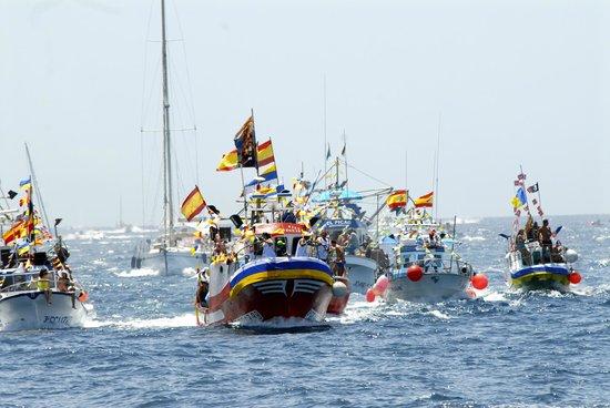 Hotel Puerto de Mogan THe Senses Collection: Virgen De Carmen Festival 20th July held each year