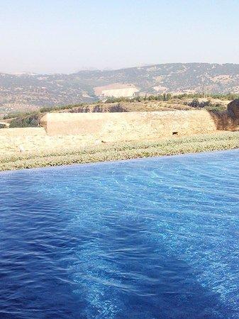 Hotel Catalonia Reina Victoria Wellness & Spa: Vue de la piscine