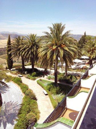 Hotel Catalonia Reina Victoria Wellness & Spa: Vue de la chambre 220 : superbe !