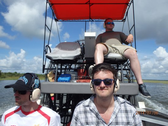 Boggy Creek Airboat Rides: Great time at Boggy Creek