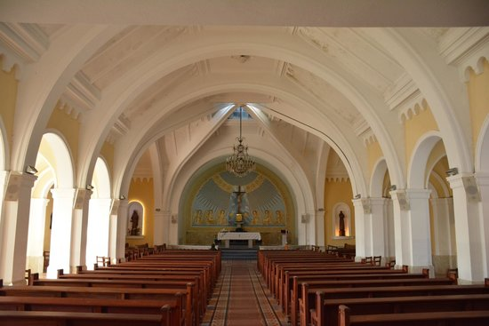 Iglesia Candelaria: Parte interna