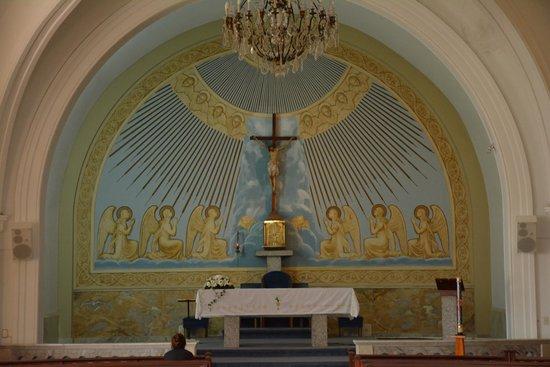 Iglesia Candelaria: Altar