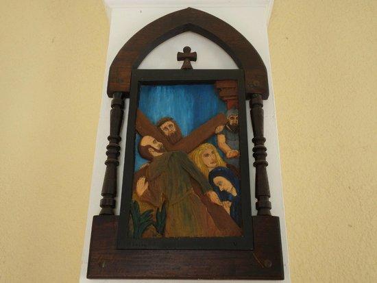 Iglesia Candelaria: Painel