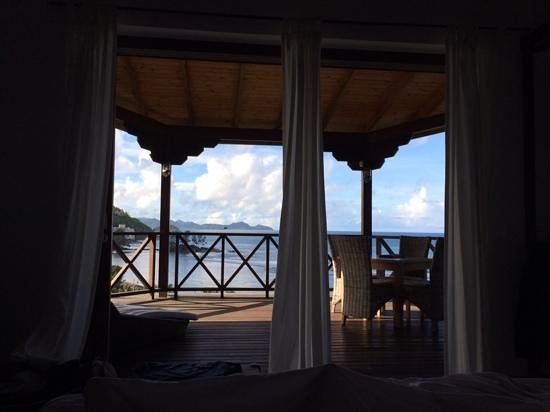 Villas de Jardin: view from the bedroom