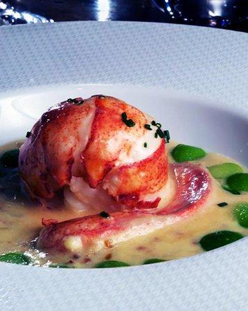 Koffmann's: homard écossais grillé avec beurre d'herbes