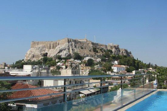 Electra Palace Athens: Pool view