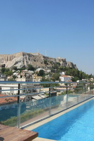 Electra Palace Athens: View from pool