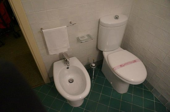 Hotel Porta San Mamolo : A bathroom in Italy wouldn't be complete without the bidet!