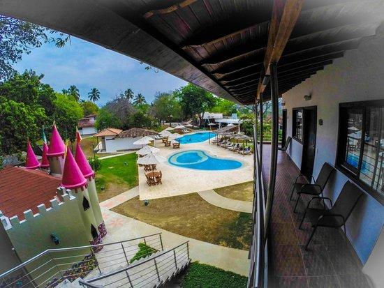 Hotel Las Ardillas: Vista desde habitación