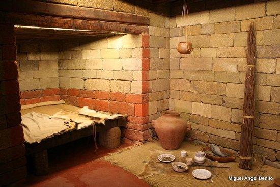 Museo y Parque Arqueologico Cueva Pintada : Reproducción de una vivienda guanche
