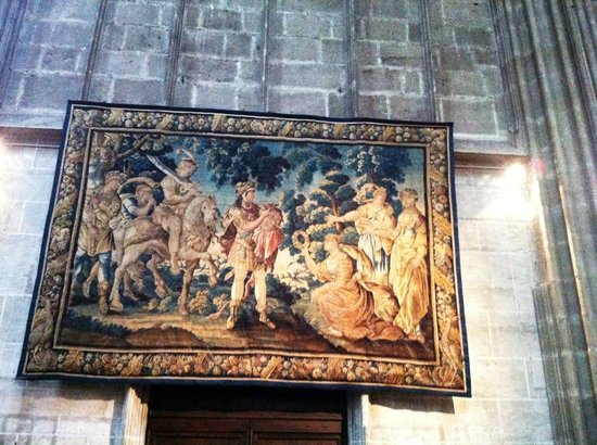 Cathédrale Saint-Just : гобелен
