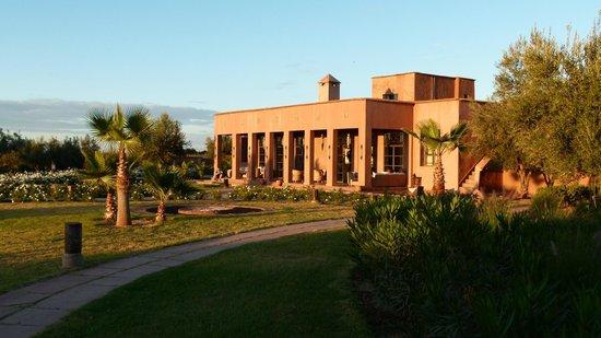 Ecolodge Quaryati : Main building