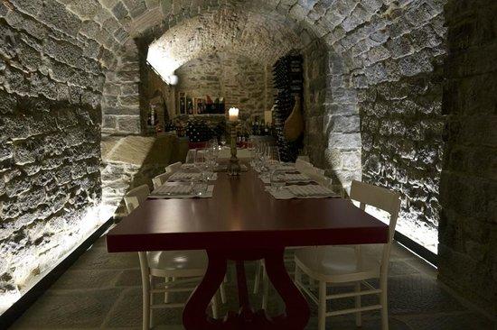 Ad Braceria : Inside the restaurant where we ate first night in Cortona