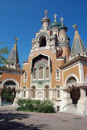 Cathédrale Orthodoxe Russe Saint-Nicolas de Nice : Basilique orthodoxe Sainte Sophie
