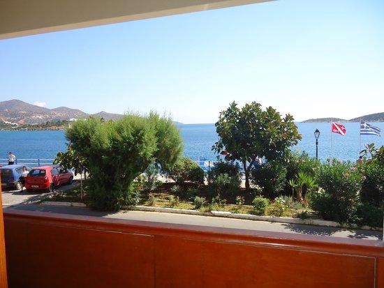 Dessole Coral Hotel: вид с балкона