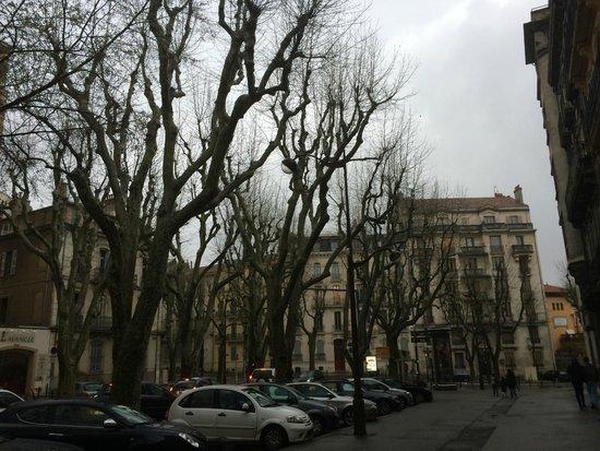 Hotel Cezanne: Hotel Street