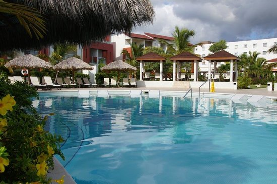 Garden View Pool Picture Of Now Larimar Punta Cana