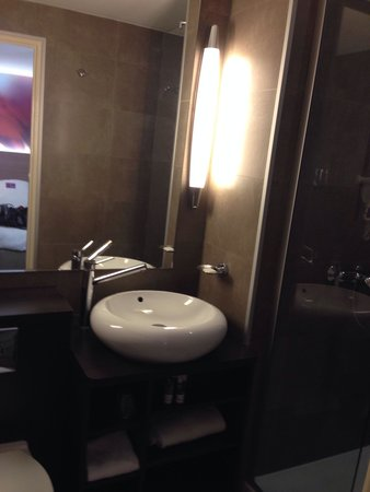 Mercure Quimper Centre : Salle de bain