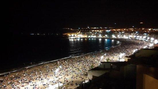 Playa de Las Canteras: Noche de San Juan