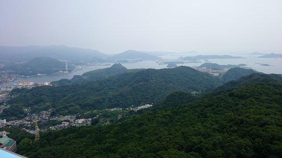Monte Inasa: Islands around Nagasaki