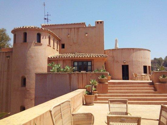 Hotel Castillo de Santa Catalina: Extérieur