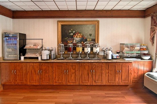 Comfort Inn Shady Grove: Breakfast Room
