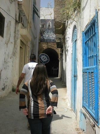 Medina de Túnez: Entrando