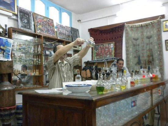 Medina de Túnez: O perfumista