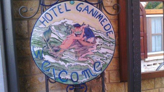 Ganimede Hotel: THE LOGO