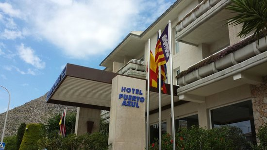 Puerto Azul Suite Hotel: Hotel entrance