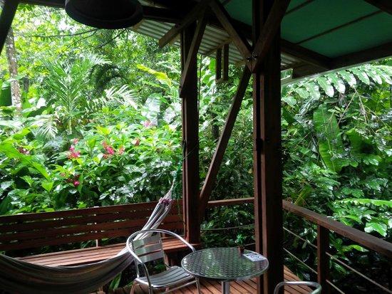 La Kukula Lodge : terrasse