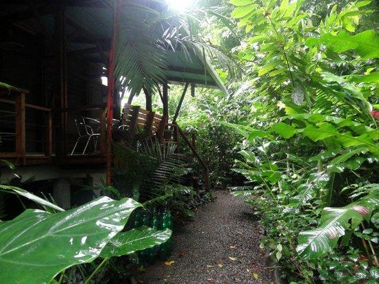 La Kukula Lodge : entrée