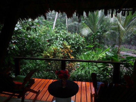 La Kukula Lodge : vue de la salle resto