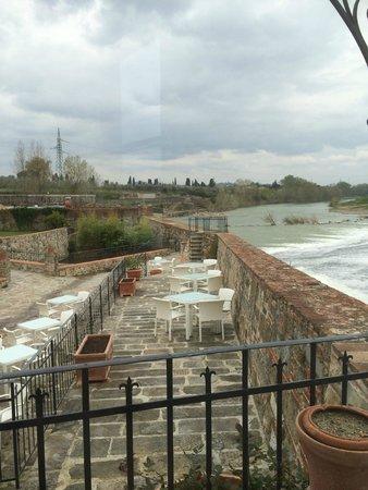 Hotel Mulino di Firenze: View from the restaurant