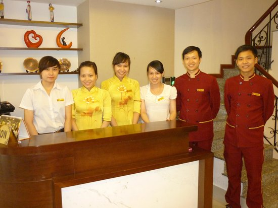 Hanoi Serene Hotel: Thanks team, I promised to post the photo & here it is!